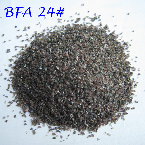 sandblasting material brown abrasives